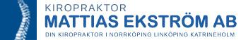 Kiropraktor Norrköping Logotyp